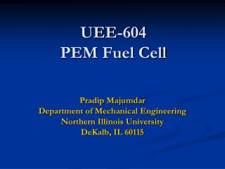 UEE-604 PEM Fuel Cell