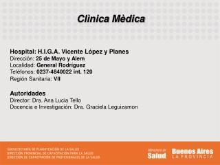 Clìnica Mèdica