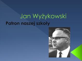 Jan Wyżykowski