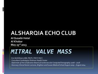Mitral Valve Mass