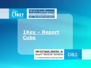 1Key � Report Cube