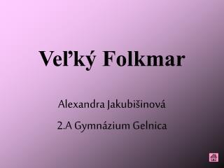 Veľký Folkmar