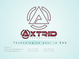 Technologies pour la R&D