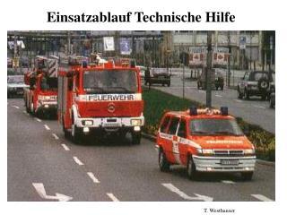 Einsatzablauf Technische Hilfe