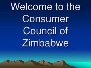 Welcome to the Consumer Council of Zimbabwe
