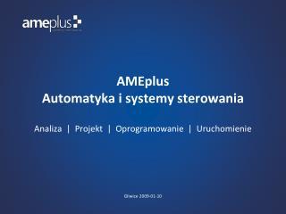 AMEplus  Automatyka i systemy sterowania