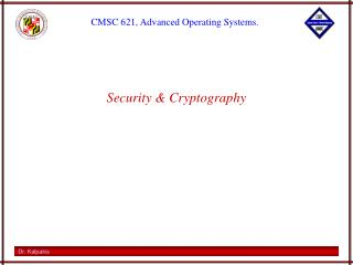 Security & Cryptography