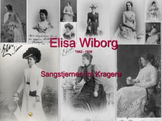 Elisa Wiborg 1862 - 1938