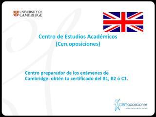 Centro de Estudios Académicos (Cen.oposiciones)