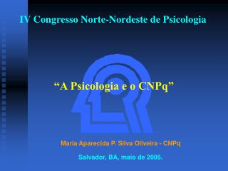 IV Congresso Norte-Nordeste de Psicologia