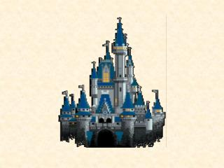 Der var engang et slot, hvor der boede en konge