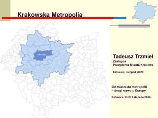 Tadeusz Trzmiel Zastępca   Prezydenta Miasta Krakowa Katowice, listopad 2009r.