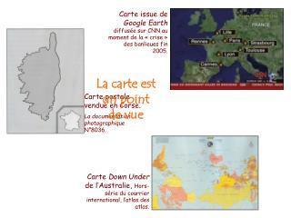 Carte postale vendue en Corse.  La documentation photographique  N°8036.
