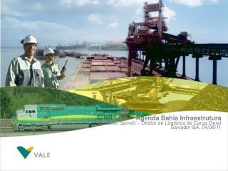 Agenda Bahia Infraestrutura Marcello Spinelli – Diretor de Logística de Carga Geral