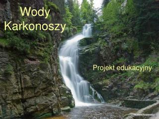 Wody Karkonoszy