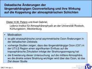Dieter H.W. Peters  und Axel Gabriel,
