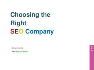 Tips on Choosing the Right SEO Company