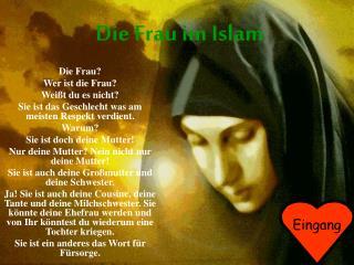 Die Frau im Islam
