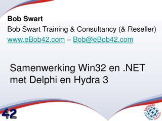 Samenwerking Win32 en .NET met Delphi en Hydra 3