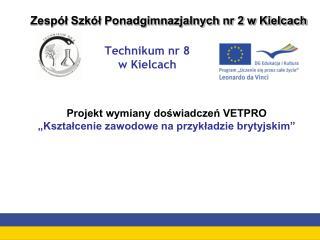 Technikum nr 8  w Kielcach