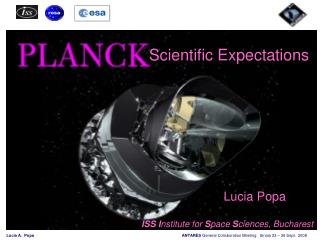 The  Planck  Mission: Scientific expectations