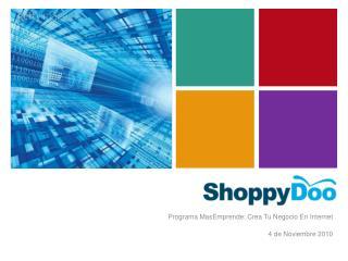 Programa  MasEmprende : Crea Tu Negocio En Internet 4 de Noviembre 2010