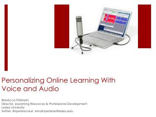 Personalizing Online Learning With  Voice and Audio