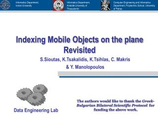Indexing Mobile Objects on the plane Revisited