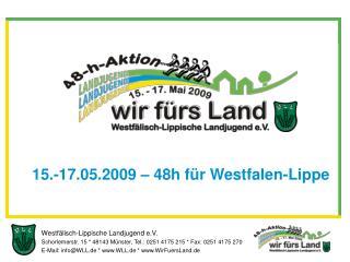 Westfälisch-Lippische Landjugend e.V.