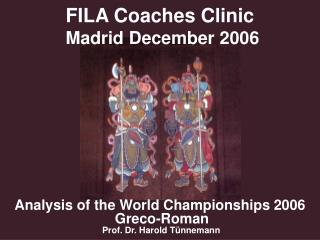 FILA Coaches Clinic  Madrid December 2006