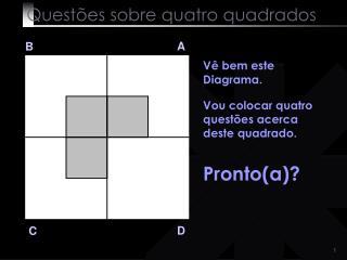 Quest�es sobre quatro quadrados
