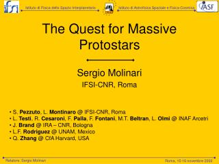 The Quest for Massive Protostars