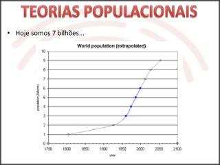 Hoje somos 7 bilhões...