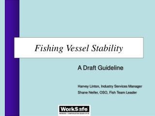 Fishing Vessel Stability