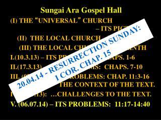 Sungai  Ara  Gospel Hall