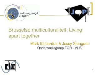 Brusselse multiculturaliteit: Living apart together