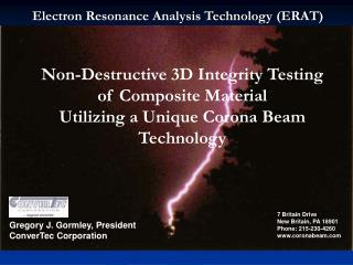 Non-Destructive 3D Integrity Testing of Composite Material