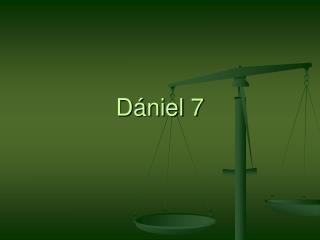 D�niel 7