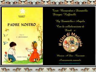 Testi:  Bernardini  e Donatella    Disegni: Ruffinelli