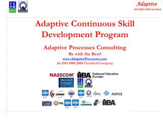 Adaptive Continuous Skill Development Program Adaptive  Processes  Consulting