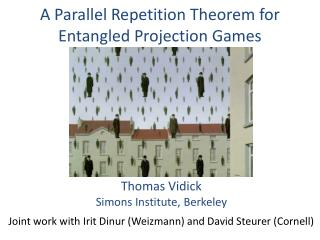 A Parallel Repetition Theorem for Entangled Projection Games