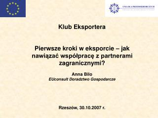 Pierwsze kroki w eksporcie – jak nawiązać współpracę z partnerami zagranicznymi?