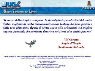 Utl Caserta Sergio D'Angelo Ferdinando Palumbo