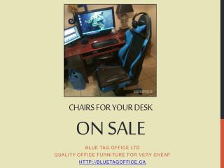 Chair for Your Desk on SALE in Canada