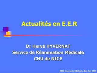 Actualit s en E.E.R