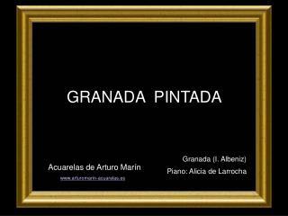 GRANADA  PINTADA