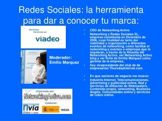 Redes Sociales: la herramienta para dar a conocer tu marca:
