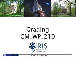 Grading CM_WP_210