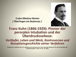 Csaba Nikolaus Nemes  / �berlingen am Bodensee /