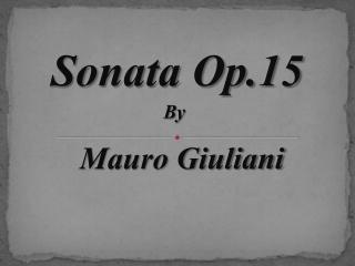 Sonata Form